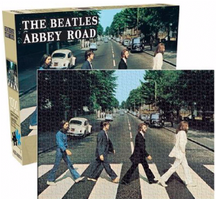 Beatles (The) - Abbey Road (1000 Piece Jigsaw Puzzle)